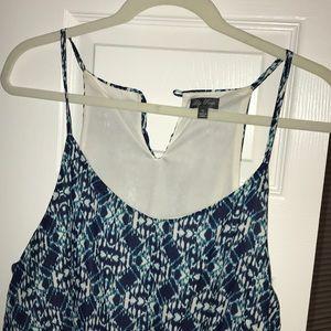 Lily Rose Blue Maxi Dress